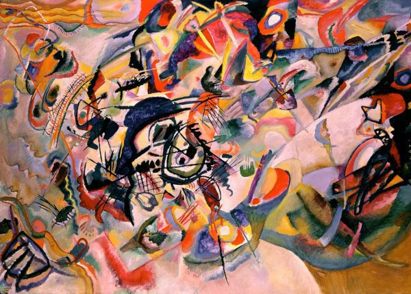 Photo of Composition VII by Wassily Kandinsky