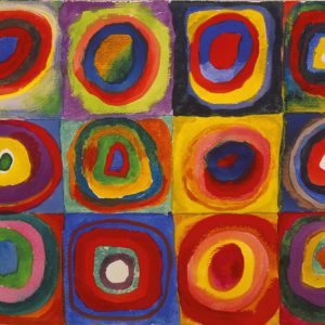 Color Study. Squares with Concentric Circles Wassily Kandinsky
