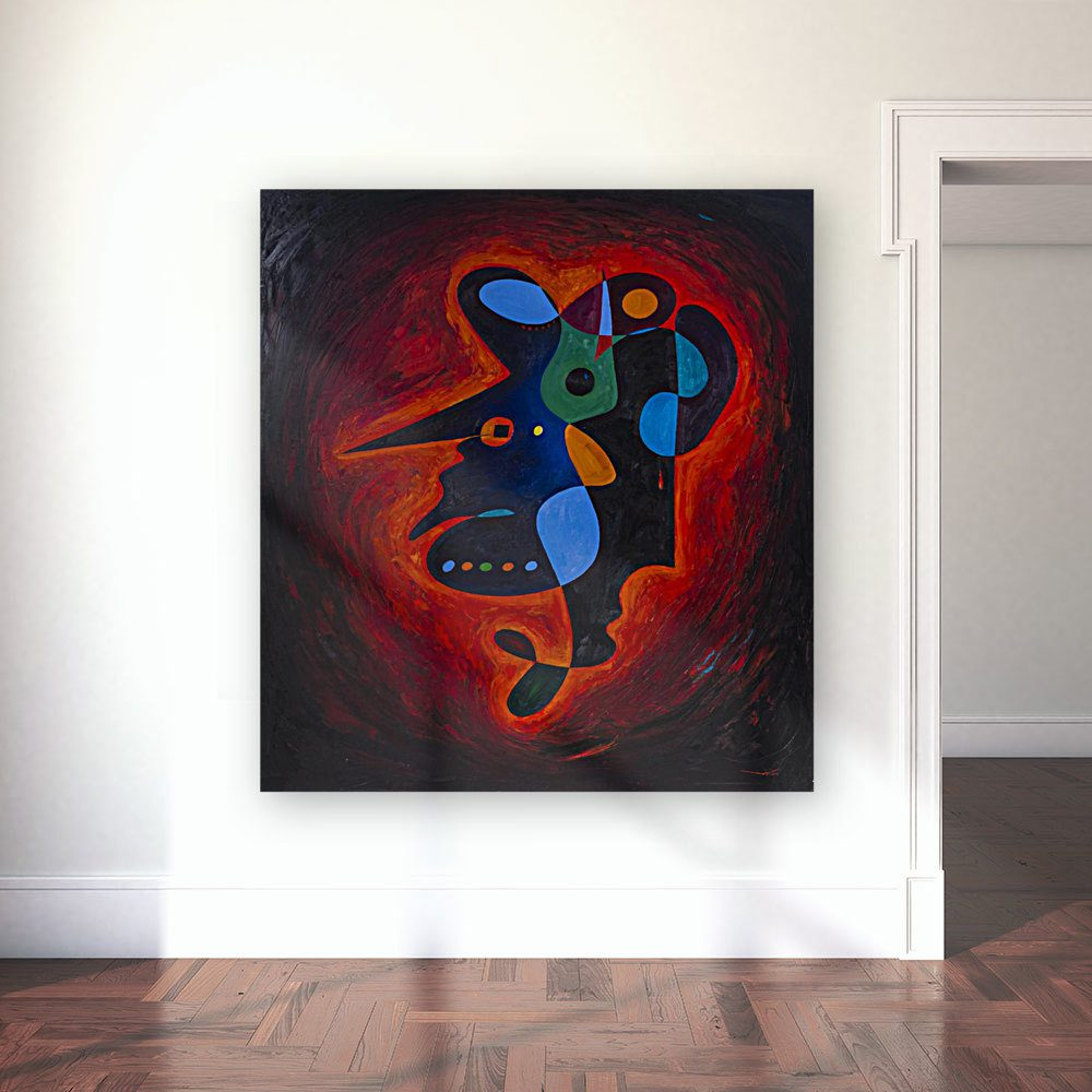 abstract art wall art painting