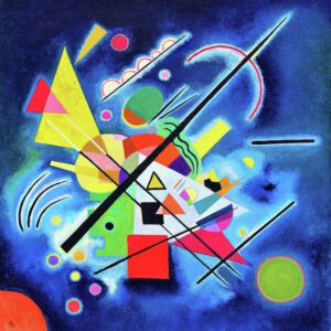 Blue by Wassily Kandinsky