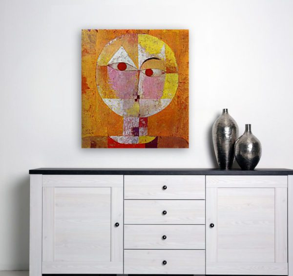 Photo of Senecio painting on simple table
