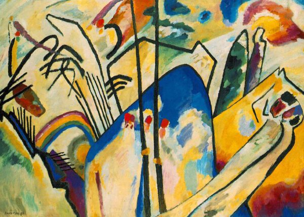 Composition IV by Wassily Kandinsky print