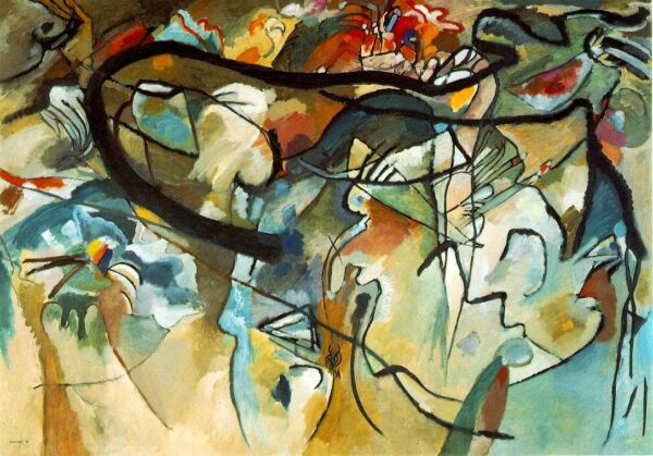 Composition V by Wassily Kandinsky