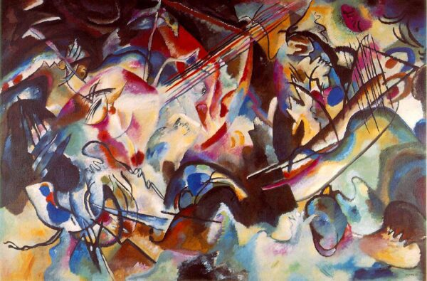 Composition VI by Wassily Kandinsky canvas print