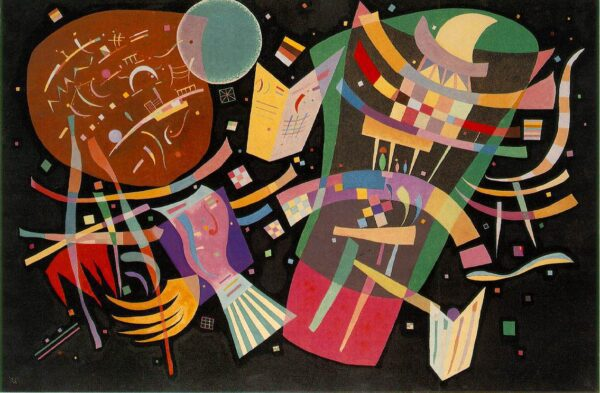 Composition X by Wassily Kandinsky print