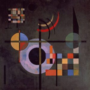 Picture of Counter weights by Wassily Kandinsky