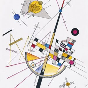 Delicate Tension #85 by Wassily Kandinsky