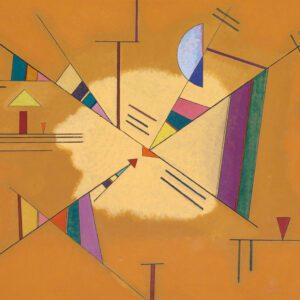 Diagonal by Wassily Kandinsky canvas print