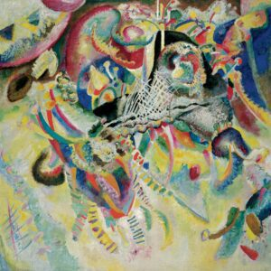 Fugue by Wassily Kandinsky Lavel art