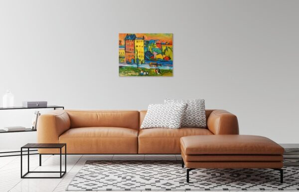 Photo Of Houses in Living Room