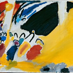 canvas print Impression III (Concert) by Wassily Kandinsky