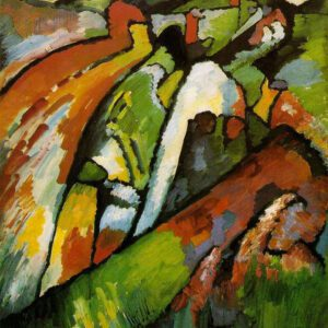 Improvisation 7 by Wassily Kandinsky