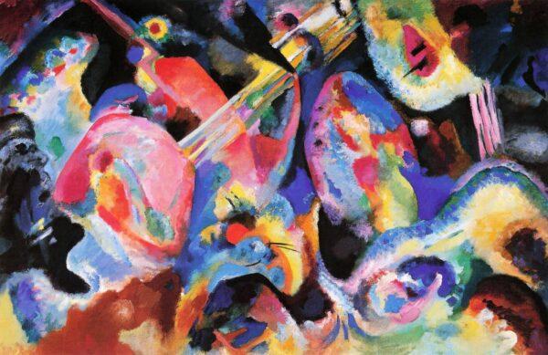 Improvisation. Deluge by Wassily Kandinsky print