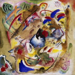 Improvisation. Dreamy. by Wassily Kandinsky