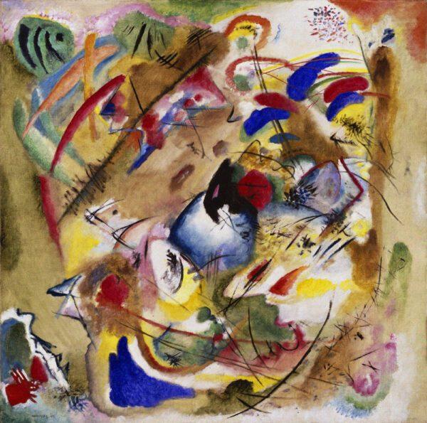 Improvisation. Dreamy. by Wassily Kandinsky