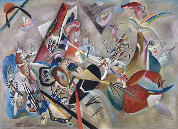 In Grey by Wassily Kandinsky