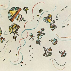 Last Watercolour by Wassily Kandinsky Canvas Print