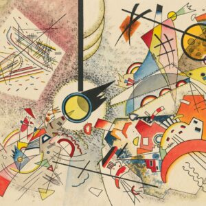 No Title by Wassily Kandinsky canvas print