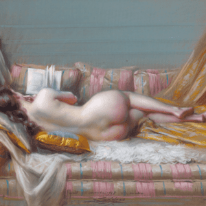 Nu Allongé by Delphin Enjolras