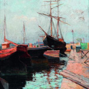 Canvas Print Odessa. Port by Wassily Kandinsky buy now