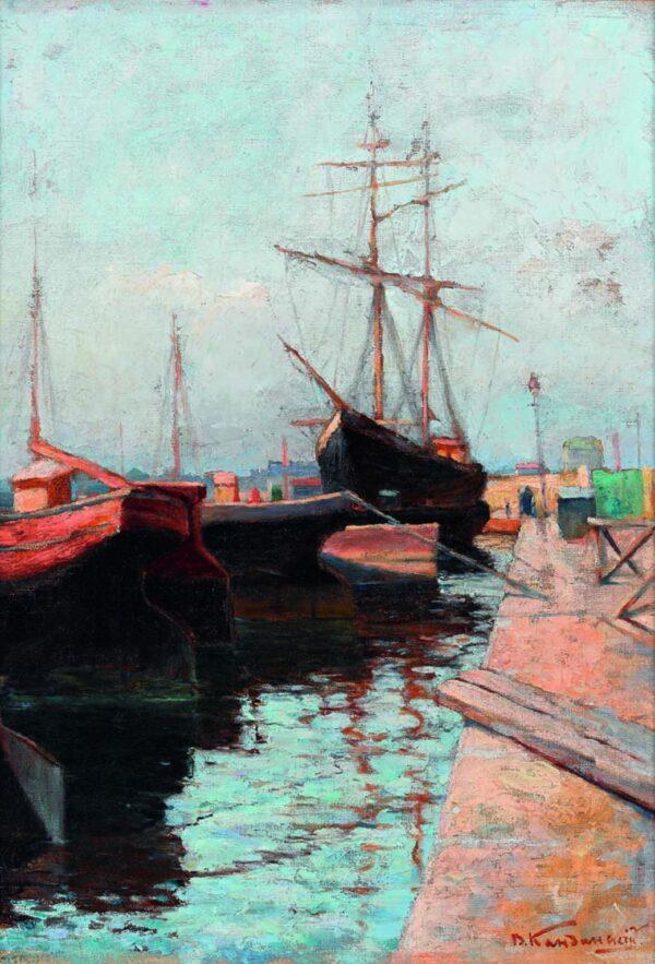 Canvas Print Odessa. Port by Wassily Kandinsky buy now