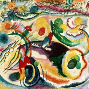 On the Theme of the Last Judgement by Wassily Kandinsky