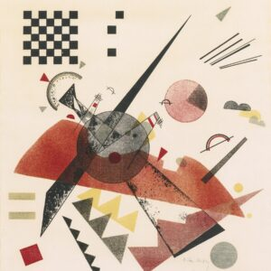 Orange by Wassily Kandinsky