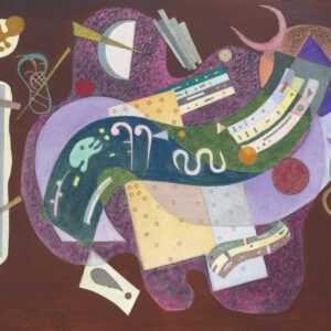 Rigid and Curved (Rigide et Courbé) by Wassily Kandinsky