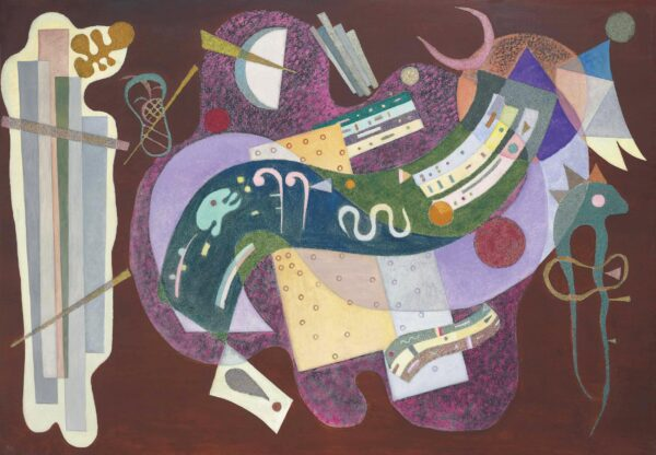 Rigid and Curved (Rigide et Courbé) by Wassily Kandinsky