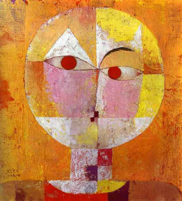 Senecio by Paul Klee Lavelart.com