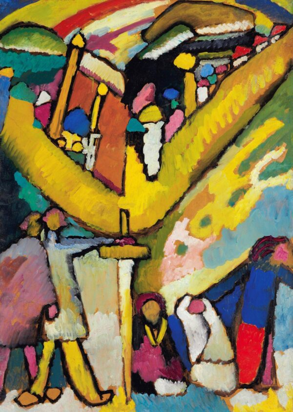 Study for Improvisation 8 by Wassily Kandinsky