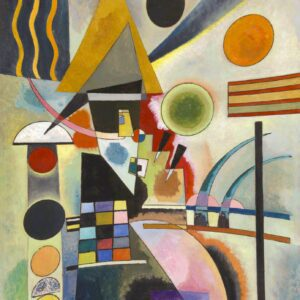 canvas print Swinging by Wassily Kandinsky