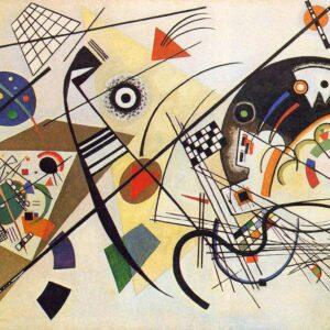 Transverse Line by Wassily Kandinsky canvas print