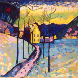 Canvas print Winter Landscape by Wassily Kandinsky