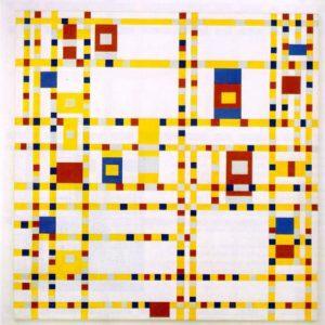 Broadway Boogie Woogie Piet Mondrian
