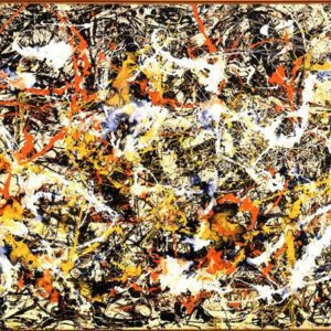 Convergence by Jackson Pollock Art Print