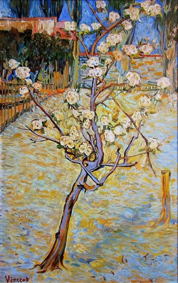 Photo of Spring Landscape painting