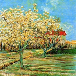 Photo of Orchard in Blossom (Plum Trees) painting