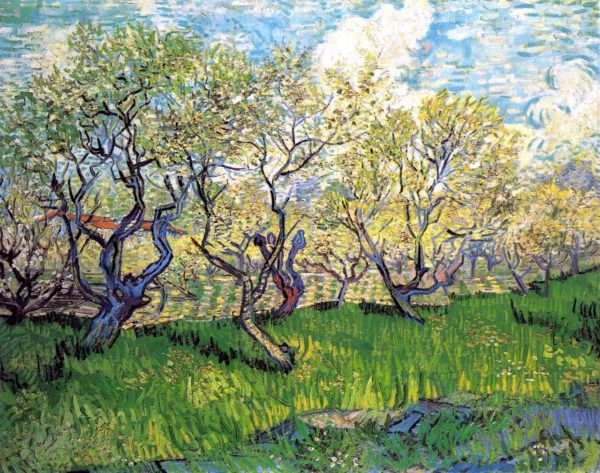 Photo of Orchard in Blossom painting