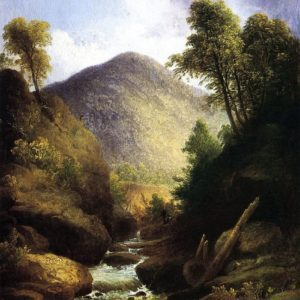 Photo of At the Waterfall painting