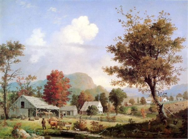 Photo of Cider Pressing painting