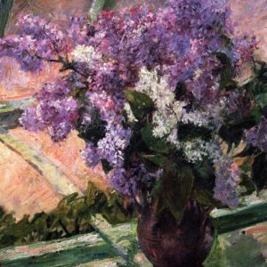 Photo of Lilacs in a Vase painting