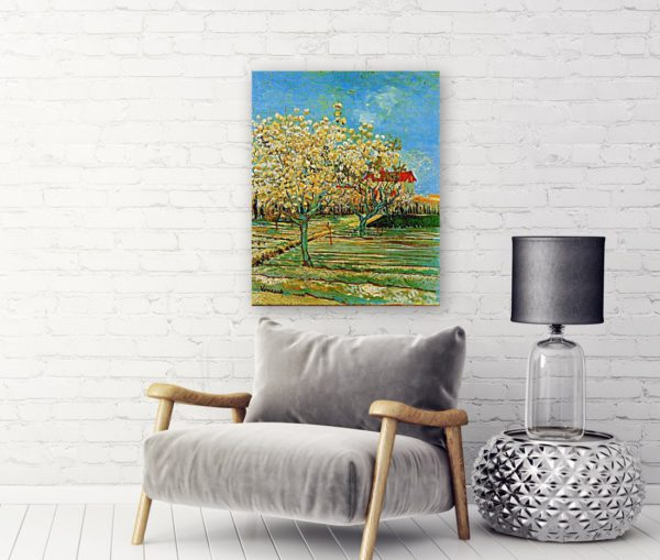 Photo of Orchard in Blossom in modern living room