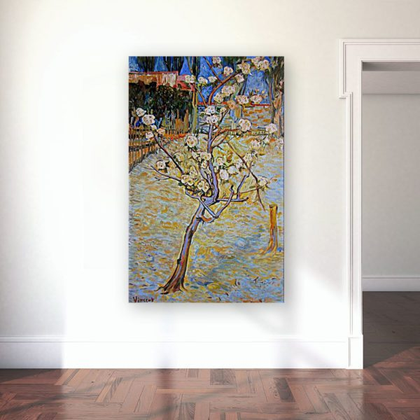 Photo of Spring Landscape painting in Gallery