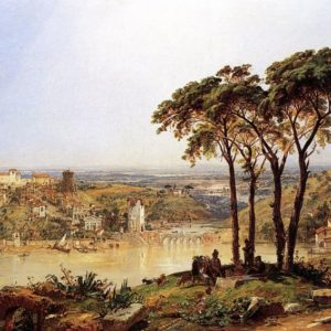 Photo of Summer, Noonday on the Arno painting