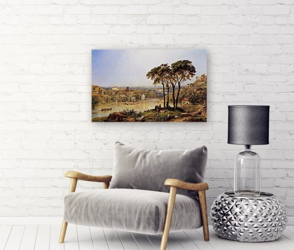 Photo of Summer, Noonday on the Arno painting by Sofa