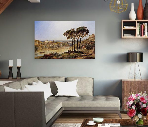 Photo of Summer, Noonday on the Arno by Elegant living room