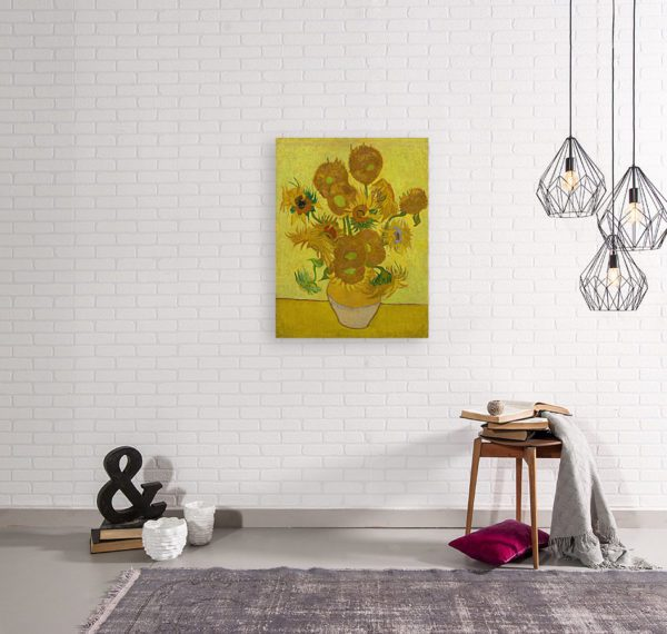 Photo of Sunflowers By Vincent van Gogh 2
