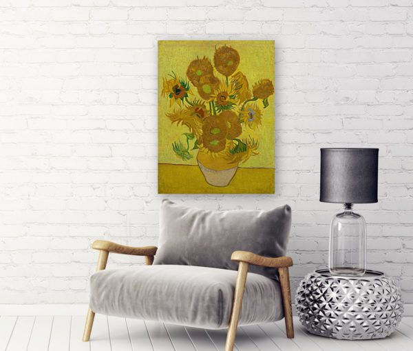 Photo of Sunflowers By Vincent van Gogh