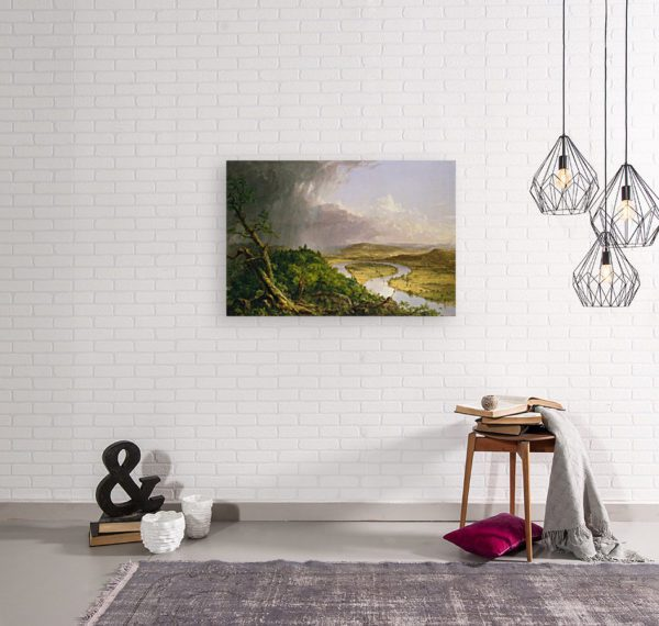 Photo of Oxbow painting in modern living room